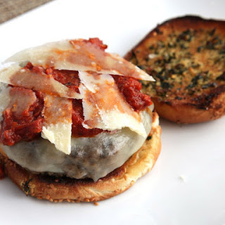 Pepperoni Garlic Bread Burgers