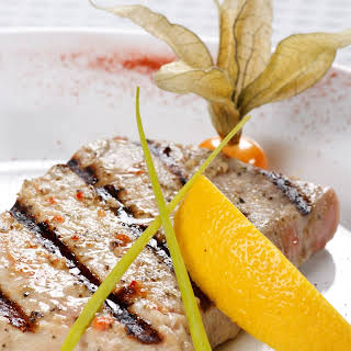 Grilled Tuna Steaks.