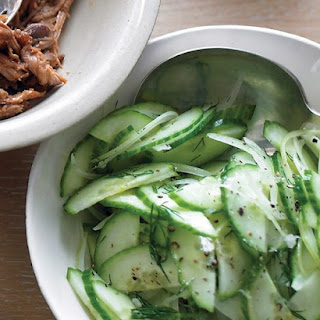 Cucumber and Sweet-Onion Salad