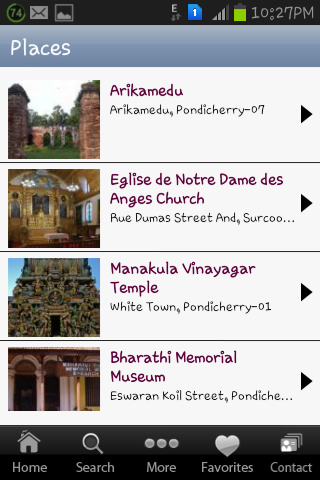 Travel Pondy - screenshot