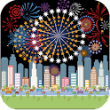 Toddlers Fireworks New Years icon