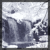 WaterFall Snow Live Wallpaper