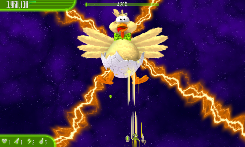 Chicken Invaders 4 Easter- screenshot