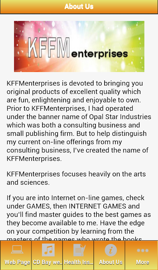 KFFM Enterprises- screenshot