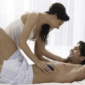 Erotic massage, couples