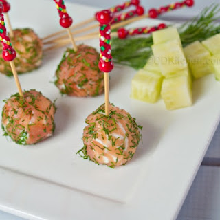 Smoked Salmon Lollipops