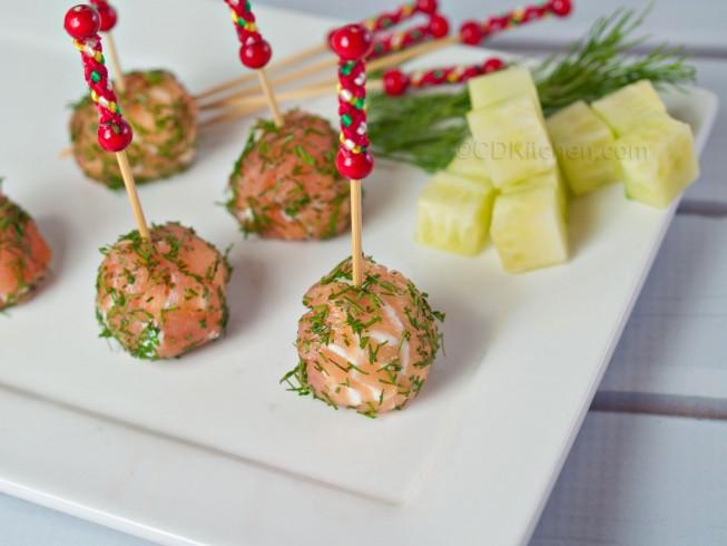 Smoked Salmon Lollipops Recipe