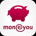 MoneYou App Épargne smartphone icon