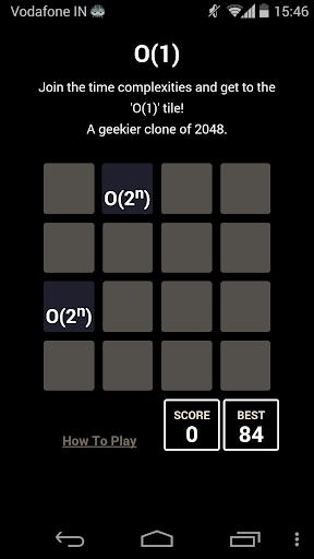 BigO - A Geeky 2048