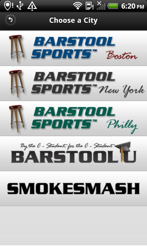 Official Barstool Sports - screenshot