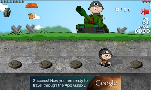 Whack the Angry Soldier WW2- screenshot thumbnail