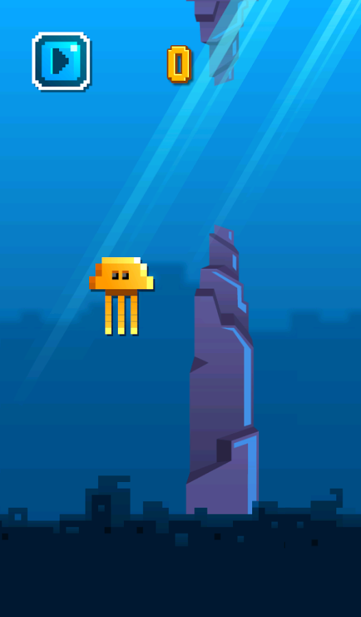 Flappy Jellyfish - screenshot