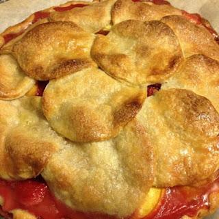 Peach Melbarita Pie