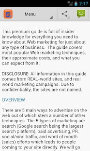 Learn Advertising & Marketing - screenshot thumbnail