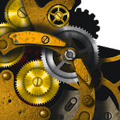 Steampunk gear Live Wallpaper