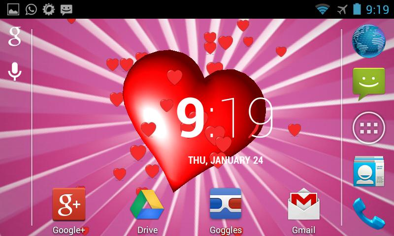 Heart 3D Live Wallpaper - screenshot