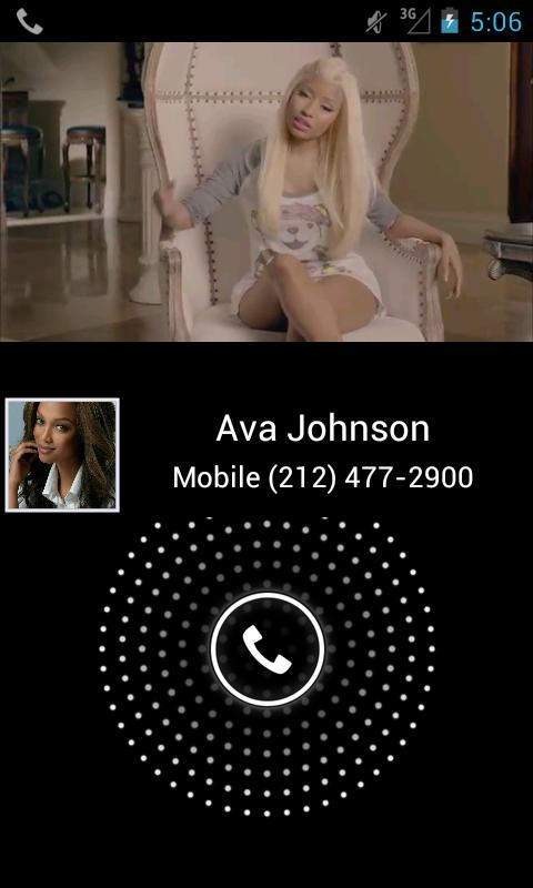 Video Caller Id (Free) - screenshot