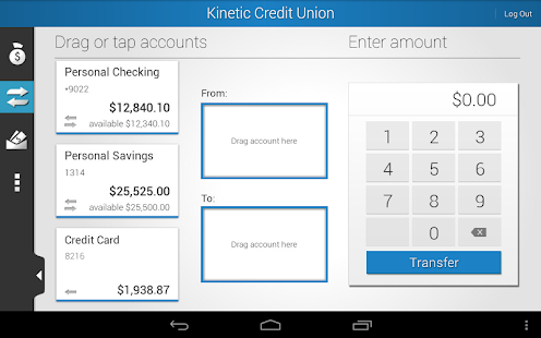 Kinetic Credit Union - screenshot thumbnail