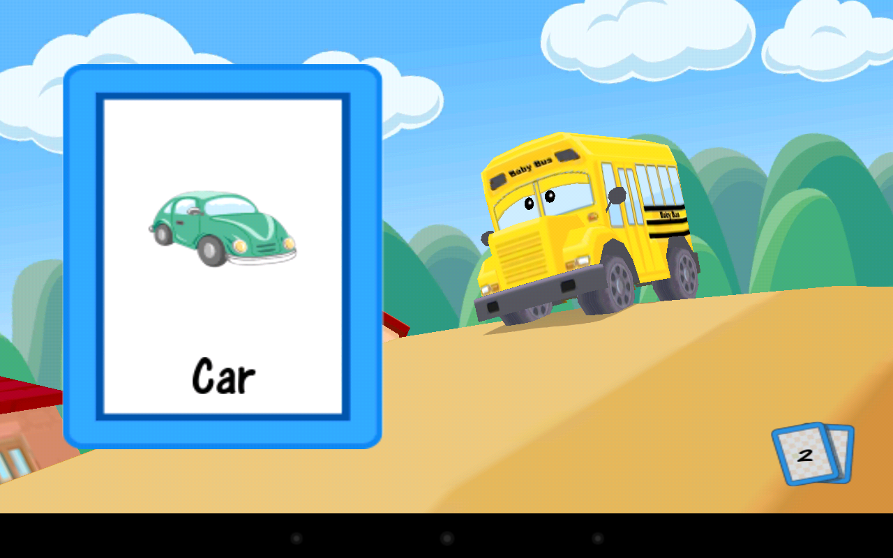 Alphabet Car- screenshot