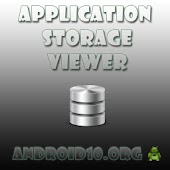 Application Storage Viewer