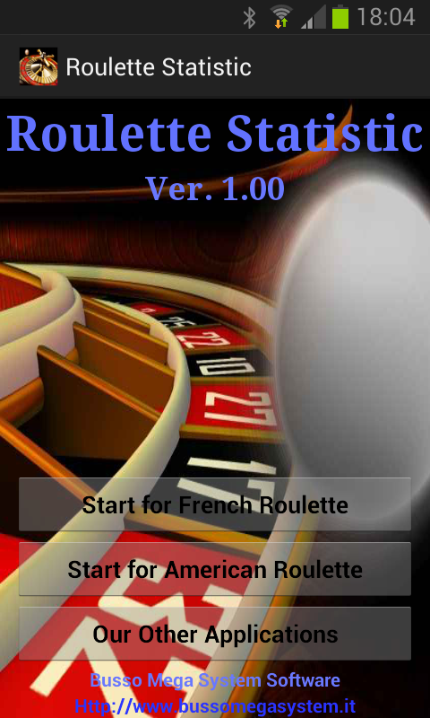 Roulette analyzer android