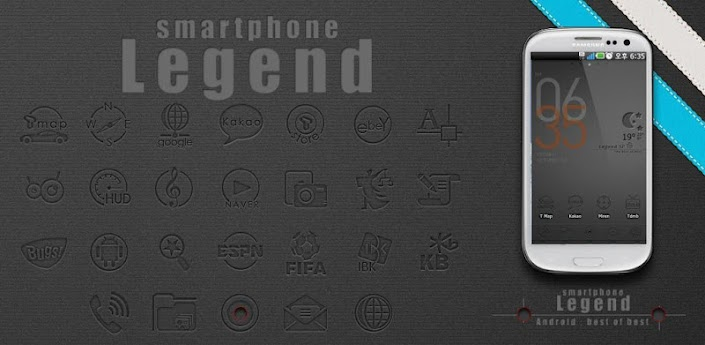 Legend Go Launcher EX theme v1.1
