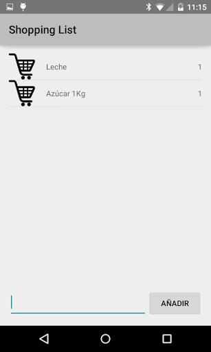 Shopping List Lista Compra