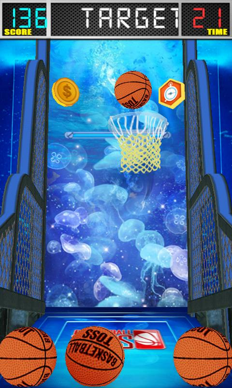 BasketBall Toss- screenshot