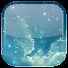 Galaxie Parallax fond d'écran icon