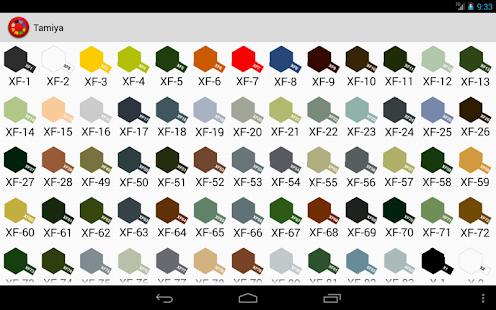 hobby color converter screenshot thumbnail - Tamiya Color