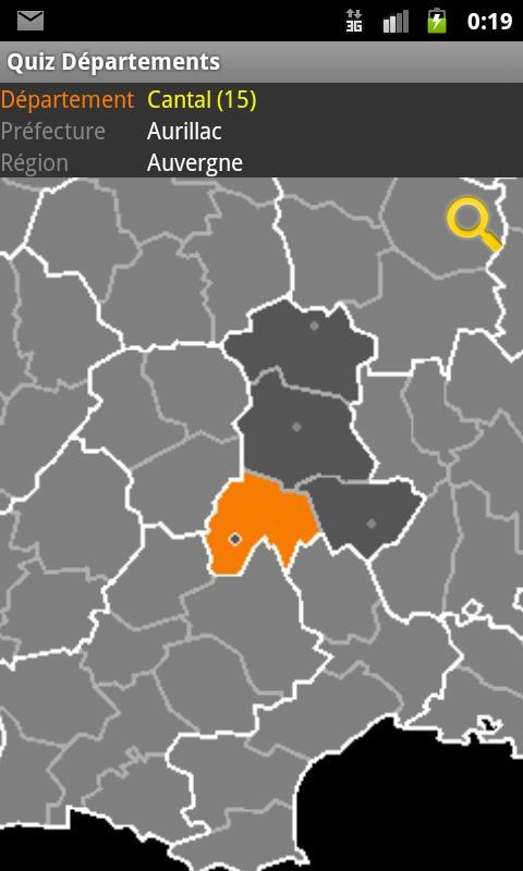 Top Quiz Départements Français – Applications Android sur Google Play CM57