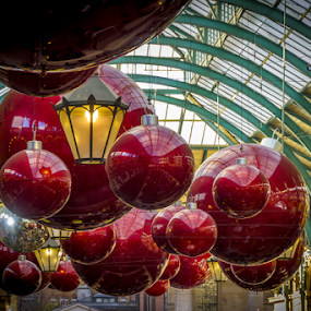Big decs by Gordon Bishop - Public Holidays Christmas ( roof, decorations red, centre, christmas, shopping, light )
