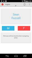 Screenshot of Random Name Generator