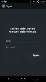Tesla Command for Android Wear Screenshot 2