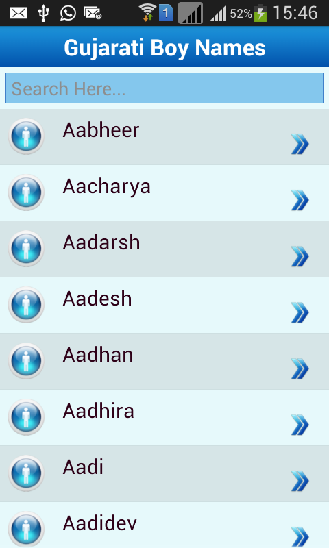 Gujarati Baby Names Amp Meaning Android Apps On Google Play
