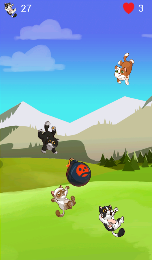 Kitten Catch- screenshot