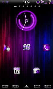Mixer Purple - CM7 Theme - screenshot thumbnail