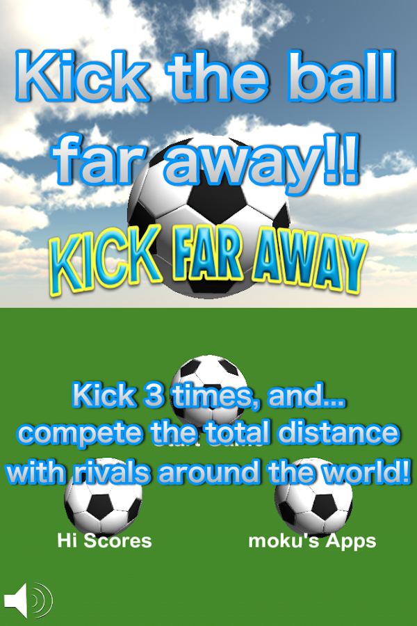 Kick Far Away!!- screenshot