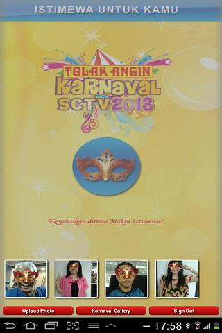 Karnaval SCTV 2013 - screenshot