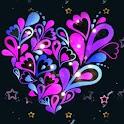 Sparkling Purple Heart Live Wa logo