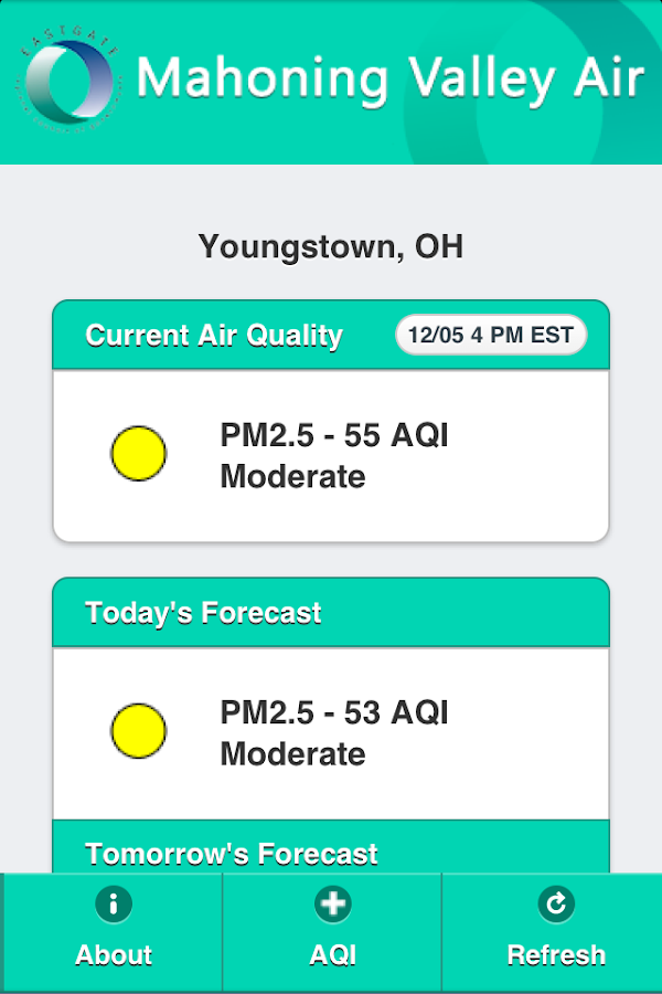 Mahoning Valley Air- screenshot