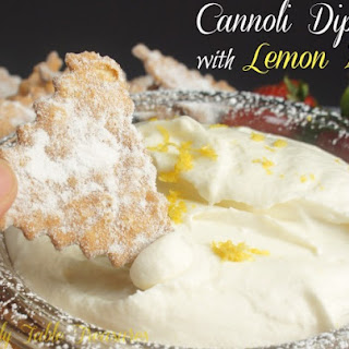 Cannoli Dip {with Lemon Zest}