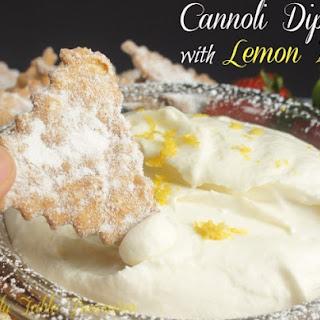 Cannoli Dip {with Lemon Zest}.