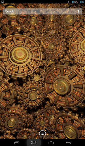 Gears of Gold 2 Live Wallpaper