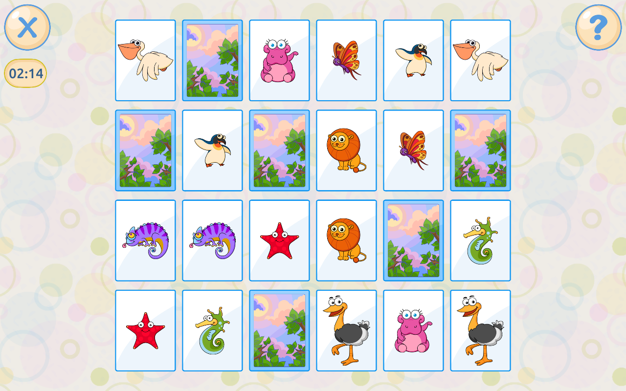 Memory & Attention Training Games Free- screenshot