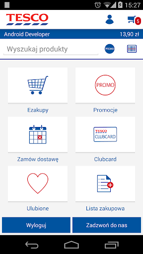 TESCO Ezakupy app (apk) free download for Android/PC/Windows screenshot