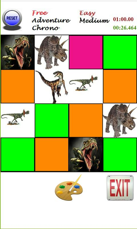 Memorex - Jurassic Cards Game- screenshot