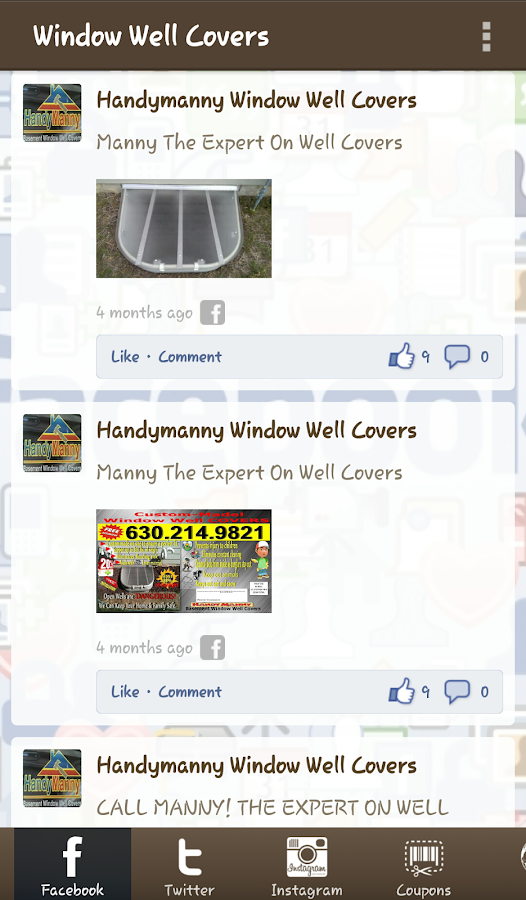 Window Well Covers- screenshot