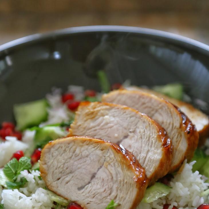 Peking Turkey Breast with Pomegranate Molasses Recipe