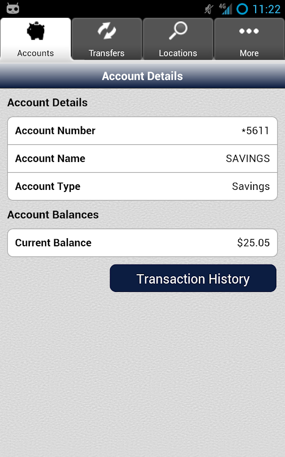 JD Bank Mobile- screenshot